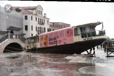 disastro alta marea a venezia