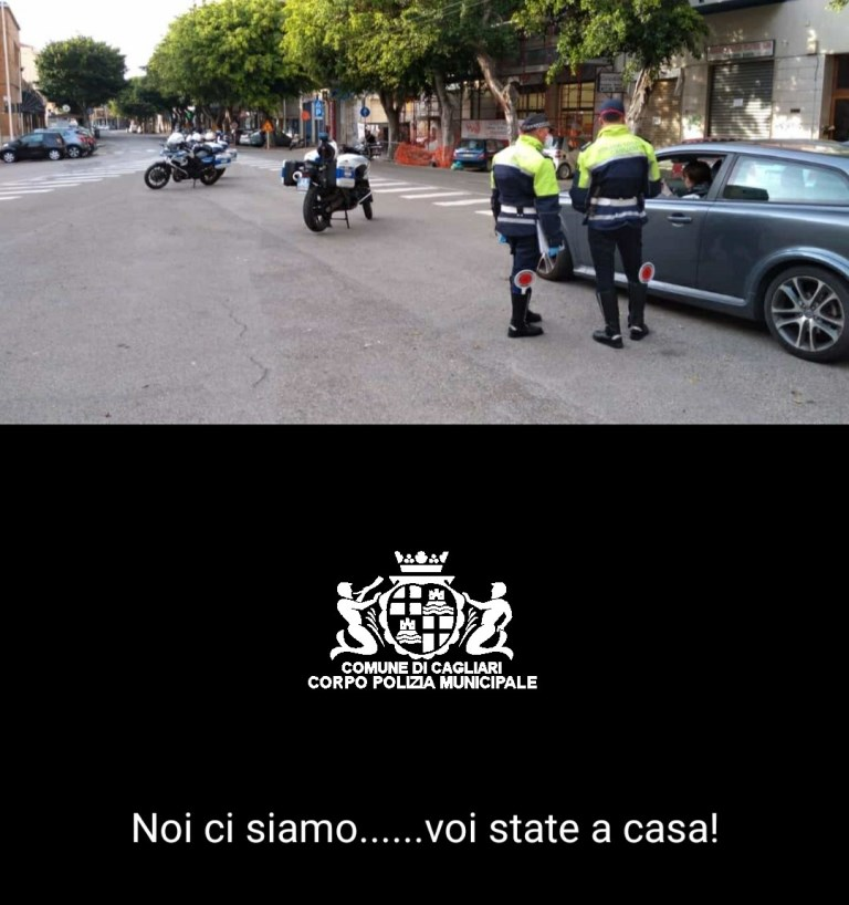 polizia locale municipale cagliari