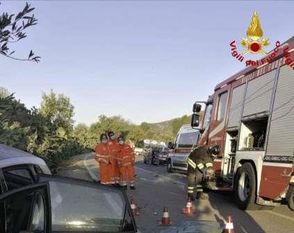 incidente stradale villassimius