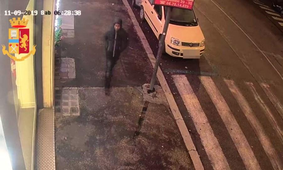 roma immagine violentatore arrestato