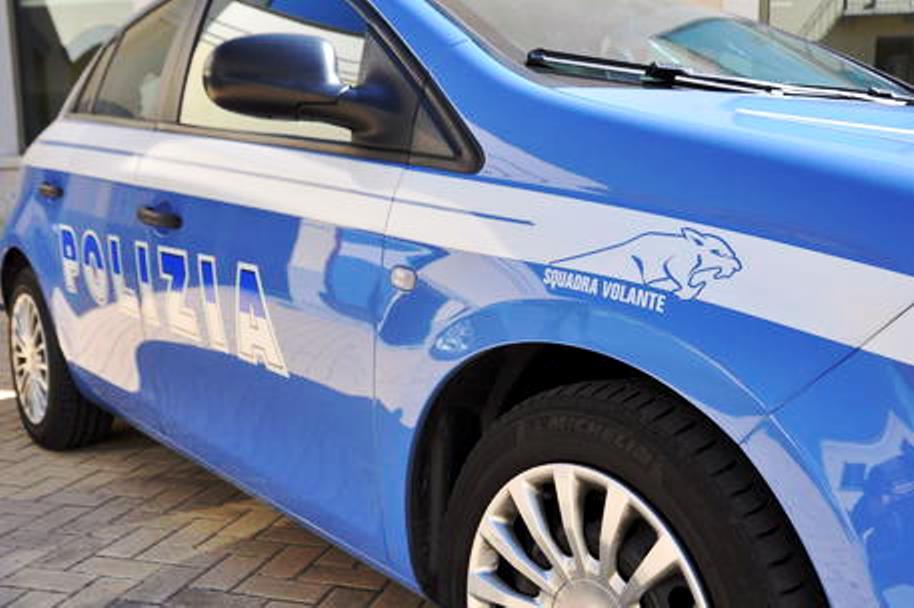 immagine volante polizia di stato, arrestato magrebino a roma, ha aggredito titolare negozio per rubare 5 birre